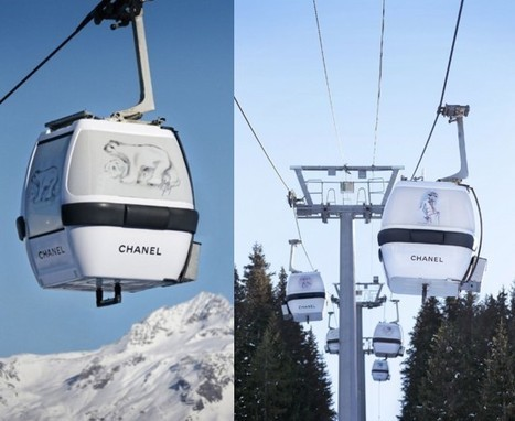 Ski fashion à Courchevel avec... - People Looks   innovating communication   Scoop.it