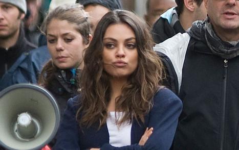 Mila Kunis : un rôle dans « Cinquante nuances de Grey » ? - Voici | people and potins | Scoop.it
