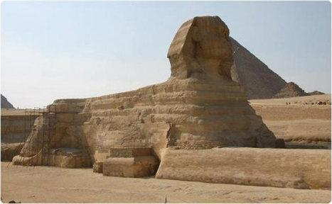 La réplique du Sphinx de Gizeh dans le nord de la Chine sera ... - Chine.org   Les lieux de légendes, d'hier et d'aujourd'hui   Scoop.it