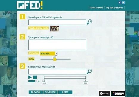 4 páginas web para crear gifs animados de forma sencilla | Con visión pedagógica: Recursos para el profesorado. | Scoop.it