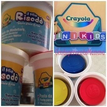 Crayola Risodò, pasta modellabile senza glutine: fantasia al potere! | senza glutine | Scoop.it