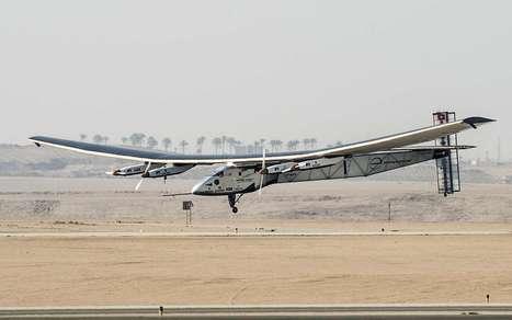 Solar Impulse : revivez le tour du monde de l'avion solaire ce soir sur France 5   Energies Renouvelables   Scoop.it