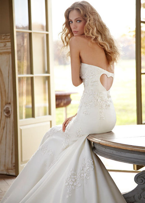 wedding dress : Hayley Paige Bridal Gowns, Wedding Dresses Style HP6202 by JLM Couture, Inc. | fashiondresses | Scoop.it