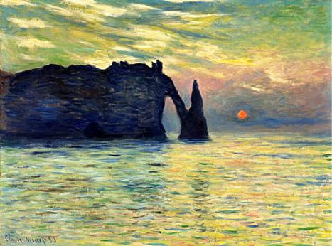 Etretat, 16 h 53 précises : un scoop mondial sur Monet - Arrêt sur images | Merveilles - Marvels | Scoop.it