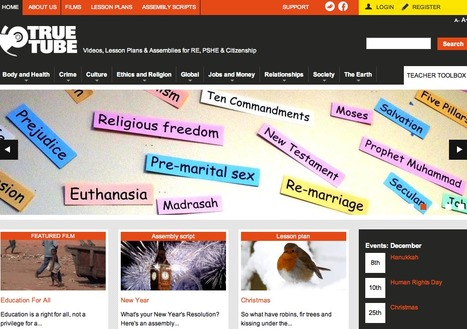 Videos, Lesson Plans & Assemblies for RE, PSHE & Citizenship | education-kalenaoffice | Scoop.it
