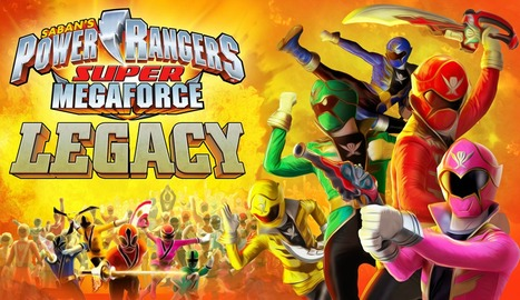 Power Rangers Super Megaforce Legacy | Action Games | Online Shooting Games | Scoop.it