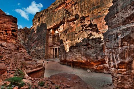 Rock craved architecture of Petra ,Jordan | Ancient Cities | Scoop.it