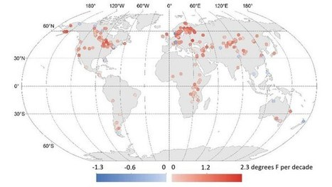 Satellite data shows that climate change is warming Earth's lakes | Healthy Waters | Scoop.it