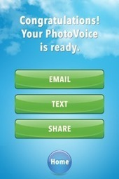 PhotoVoice iPhone Camera App - Take Picture, Add Voice, Share With World INSTANTLY! | Tools and apps for ELT | Scoop.it