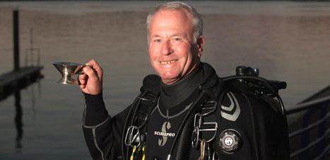Veteran diver from Monkseaton uncovers a piece of history - Journal Live | Nitroxxed Scuba News | Scoop.it