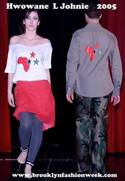 Photos du journal - Brooklyn Fashion Week |Hwowane Johnie | 2005 #TBT #Blackfashiondesigner #Brooklyn | Black Fashion Designers | Scoop.it