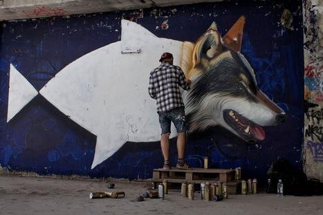 [Street Art] Nouvelle murale de Lonac à Zagreb | Urbanist | zone culturelle non identifiée | Scoop.it