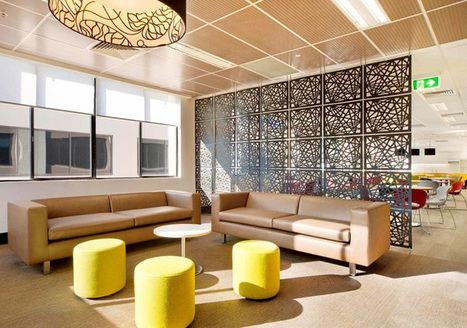 Beautiful Room Partitions Made of All Different Materials | Designing Interiors | Scoop.it