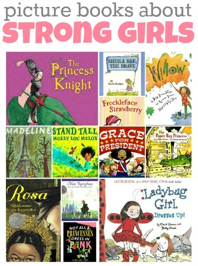 21 Picture Books About Strong Girls | Great Books, Great Resources | Scoop.it