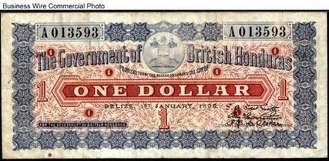 A Belizean Dollar from 1895 | Belize in Social Media | Scoop.it