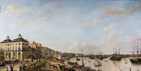 Promenez-vous sur les quais de Bordeaux en 1806 - Sud Ouest | Actualités immobilières à Bordeaux | Scoop.it