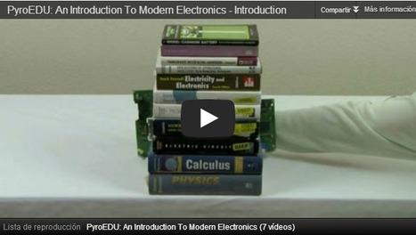 Curso de electrónica básica en vídeo   tecno4   Scoop.it