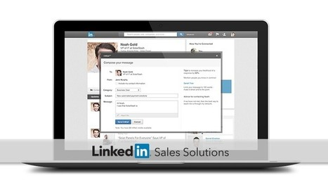 The LinkedIn InMail Kit | Social Selling:  with a focus on building business relationships online | Scoop.it