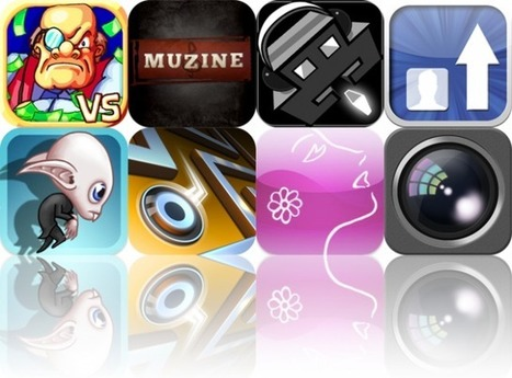 Today's Apps Gone Free: Greedy Bankers, Muzine, Audio Invaders, And More | iPads in Education Daily | Scoop.it