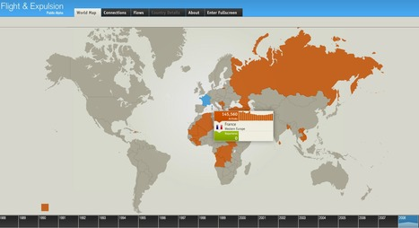 Refugees flight and expulsion in the world [interactive map] | BASIC VOWELS | Scoop.it
