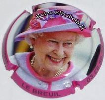 Capsule de champagne - Reine Elizabeth II | Champagne du siècle 21 | Scoop.it