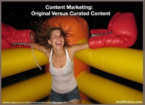 How Curated Content Performance Beats Original Content - Heidi Cohen | Google Plus and Social SEO | Scoop.it