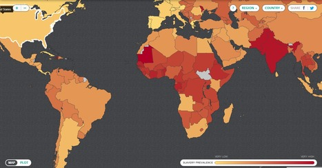 Walk Free Foundation - Global Slavery Index 2013 | Modern Day Slavery | Scoop.it