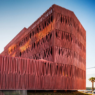 [Banyul- sur-Mer, France] Student housing with a coral-inspired facade   The Architecture of the City   Scoop.it