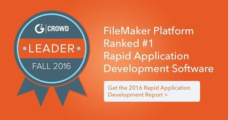 Rapid Application Development - Download G2 Crowd Report | All things Filemaker  Go | Scoop.it