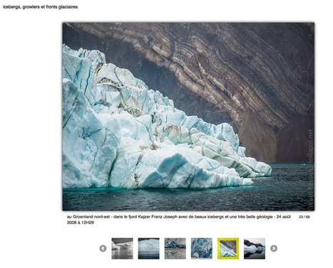 #responsive #mobile #tablette : 66 photos icebergs growlers fronts glaciaires | Arctique et Antarctique | Scoop.it