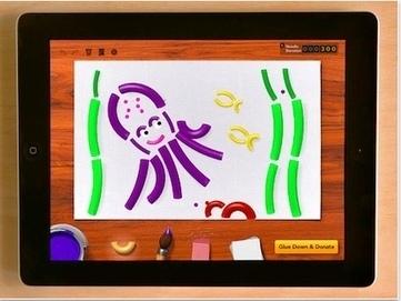 Creating digital macaroni art on the iPad for free, feeds the hungry   iGo With My iPad   Way to go iPads   Scoop.it