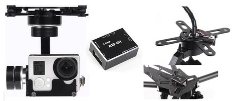 X-CAM A10-3H 3-Axis Gimbal for GoPro | First Quadcopter | Quadcopter Flyers | Scoop.it
