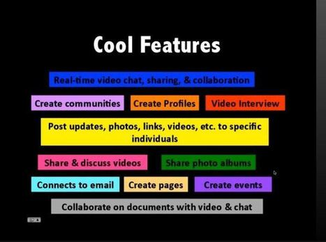 10 Tips & Ideas for Using Google Plus with Learners | Technologies in the Elementary Classroom | Scoop.it
