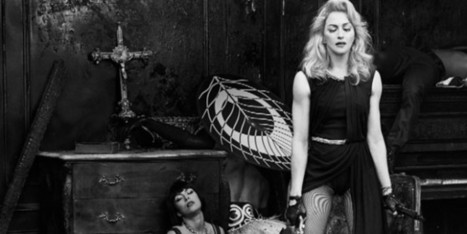 Madonna: 'Il mio Art for Freedom è importante come i miei figli' | Moda Donna - sfilate.it | Scoop.it