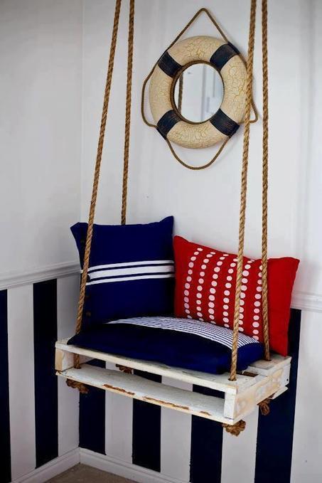 Pallet swing | DIY | Scoop.it