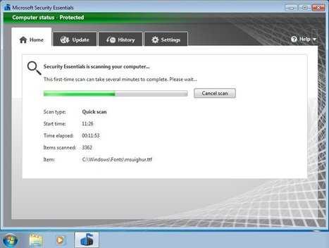 Microsoft Security Essentials 4.3 - V3.co.uk | Anti Malware Solutions | Scoop.it