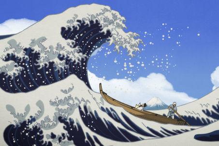 «Miss Hokusai» : à l'ombre de «La Grande Vague» | Clic France | Scoop.it