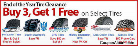 4WheelParts End of the Year Tire Clearance | Coupons & Deals | Scoop.it
