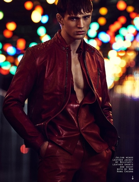 JULIAN SCHNEYDER STUNS IN ATTITUDE FEBRUARY 2016 EDITORIAL | THEHUNKFORM.COM | Scoop.it