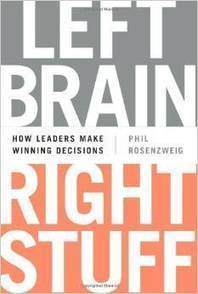 Continuing Education... Phil Rosenzweig on Leadership, Decisions, and Behavioral Economics | EconTalk | Library of Economics and Liberty | With My Right Brain | Scoop.it