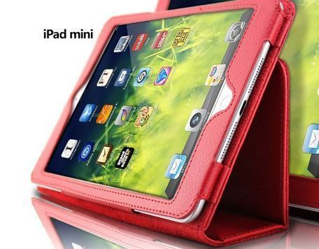 Rose red iPad mini leather protective case | Apple iPhone and iPad news | Scoop.it