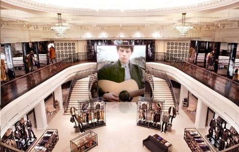 Le magasin «digital» de Burberry | Exemples marques-web 2.0 | Scoop.it