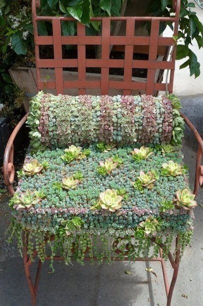 Artistic garden chair | Upcycled Garden Style | Scoop.it