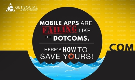 Mobile Apps Are Failing Like The DotComs. Here's How To Save Yours! | CRO + Marketing | Scoop.it
