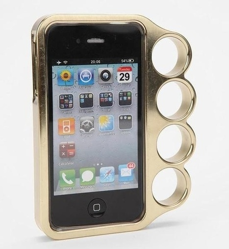 Brass Knuckle Duster iPhone Case | Technology, Gadgets & Gizmos | Scoop.it