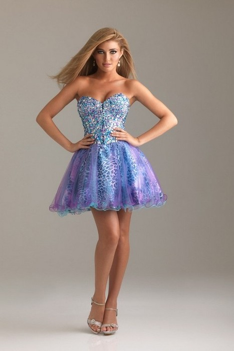 Online Fashionable Satin Yarn Sexy Homecoming Dress | Fashion Dresses | Scoop.it