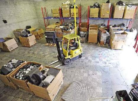 'E-waste' recycling on the rise in Jackson Co. - Mail Tribune   Greening your business   Scoop.it