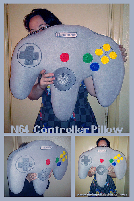 N64 Controller Pillow: Zzzz Trigger | All Geeks | Scoop.it