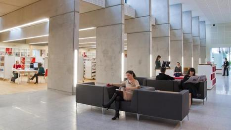The walls come down in the modern library - Irish Times | high school libraries | Scoop.it