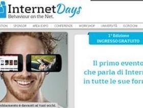 Internet Days: due giorni di incontri per capire la Rete | IAR - Informazione al rovescio | Scoop.it